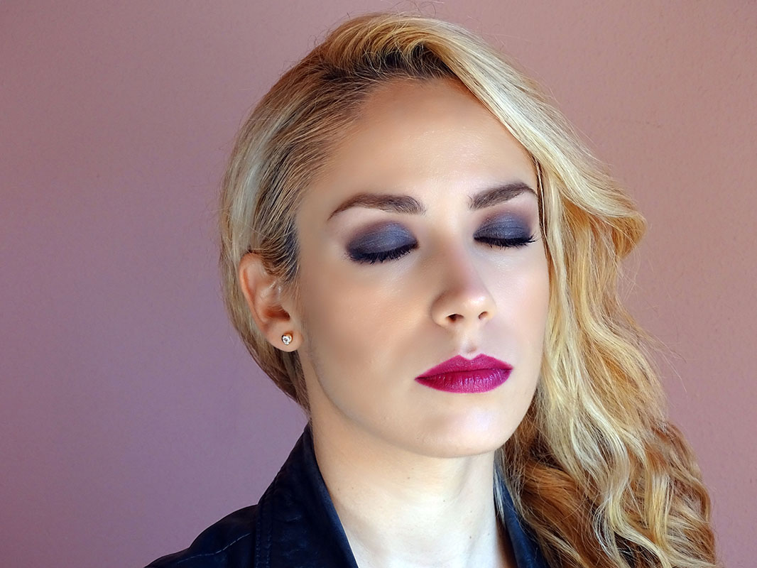Purple Smokey Eye con Naked 3 de Urban Decay.