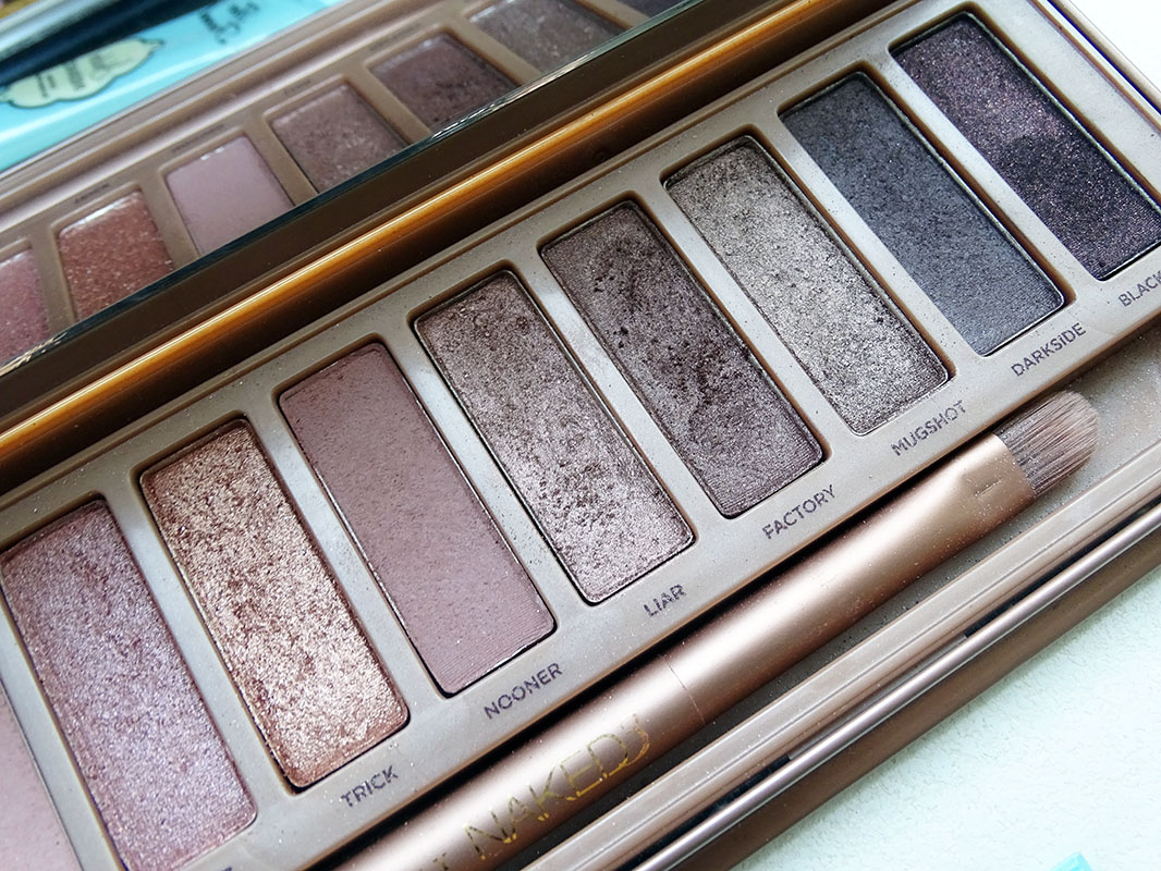 Paleta Naked 3 de Urban Decay.