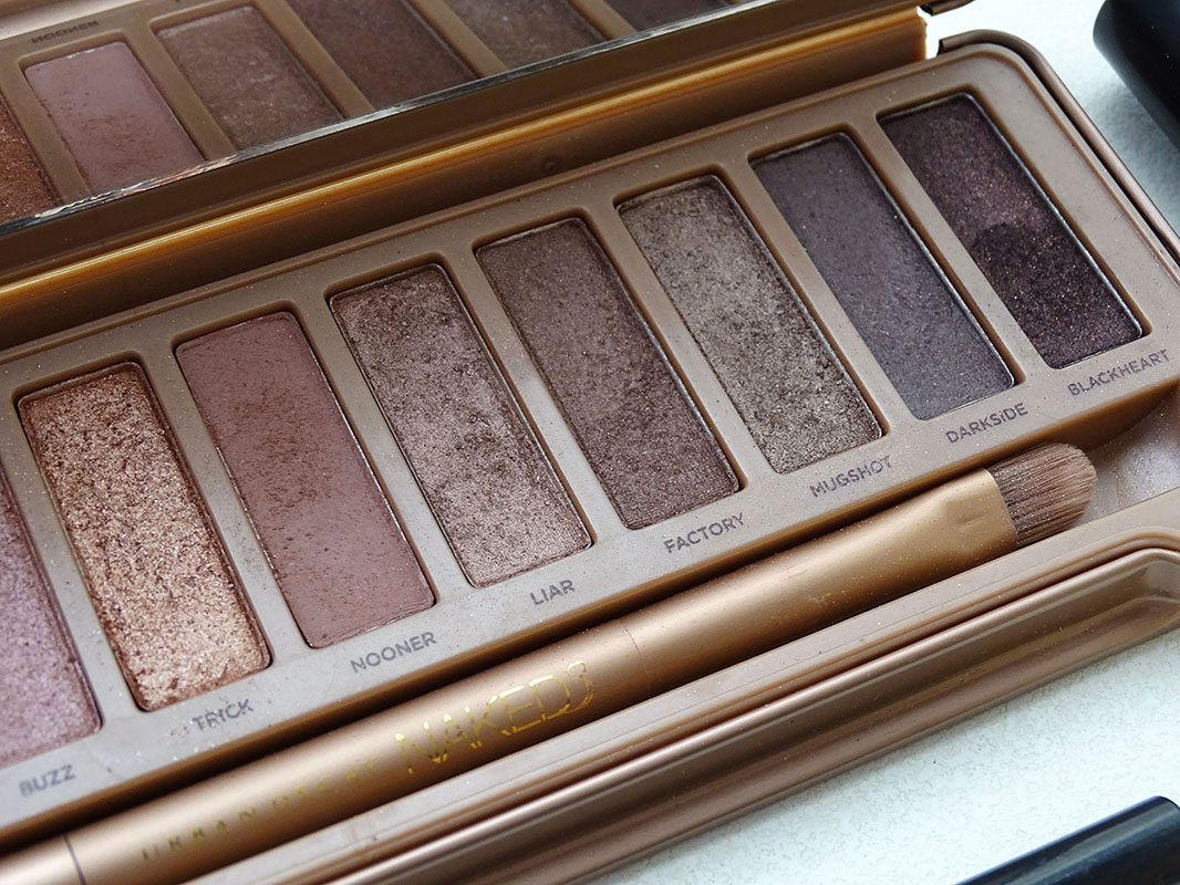 Maquillaje con Naked 3 de Urban Decay.