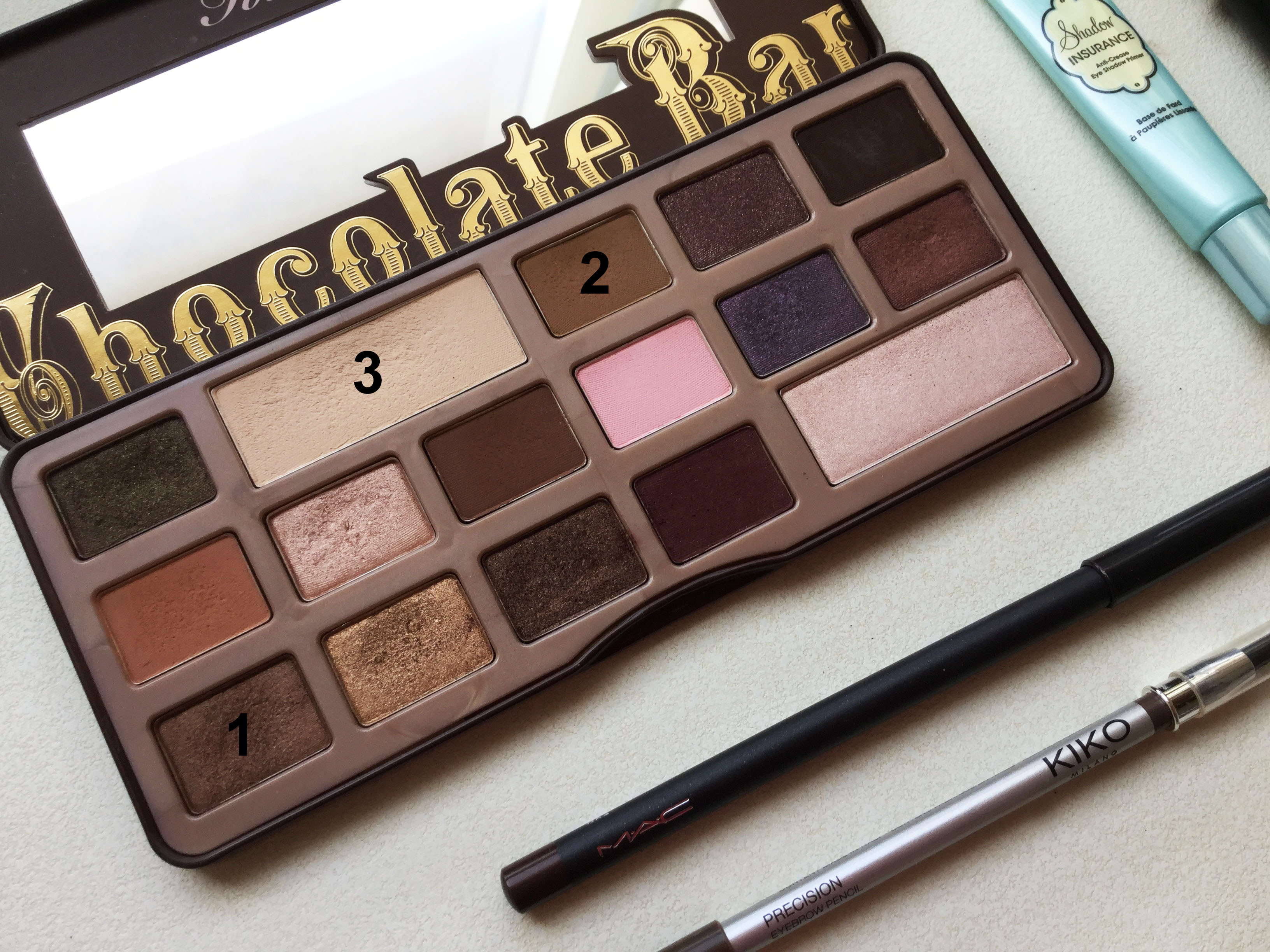 Paleta Chocolate Bar de Too Faced.
