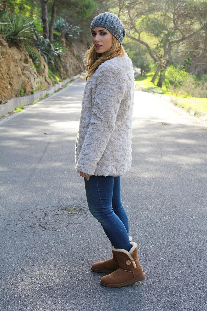 Look abrigo pelo