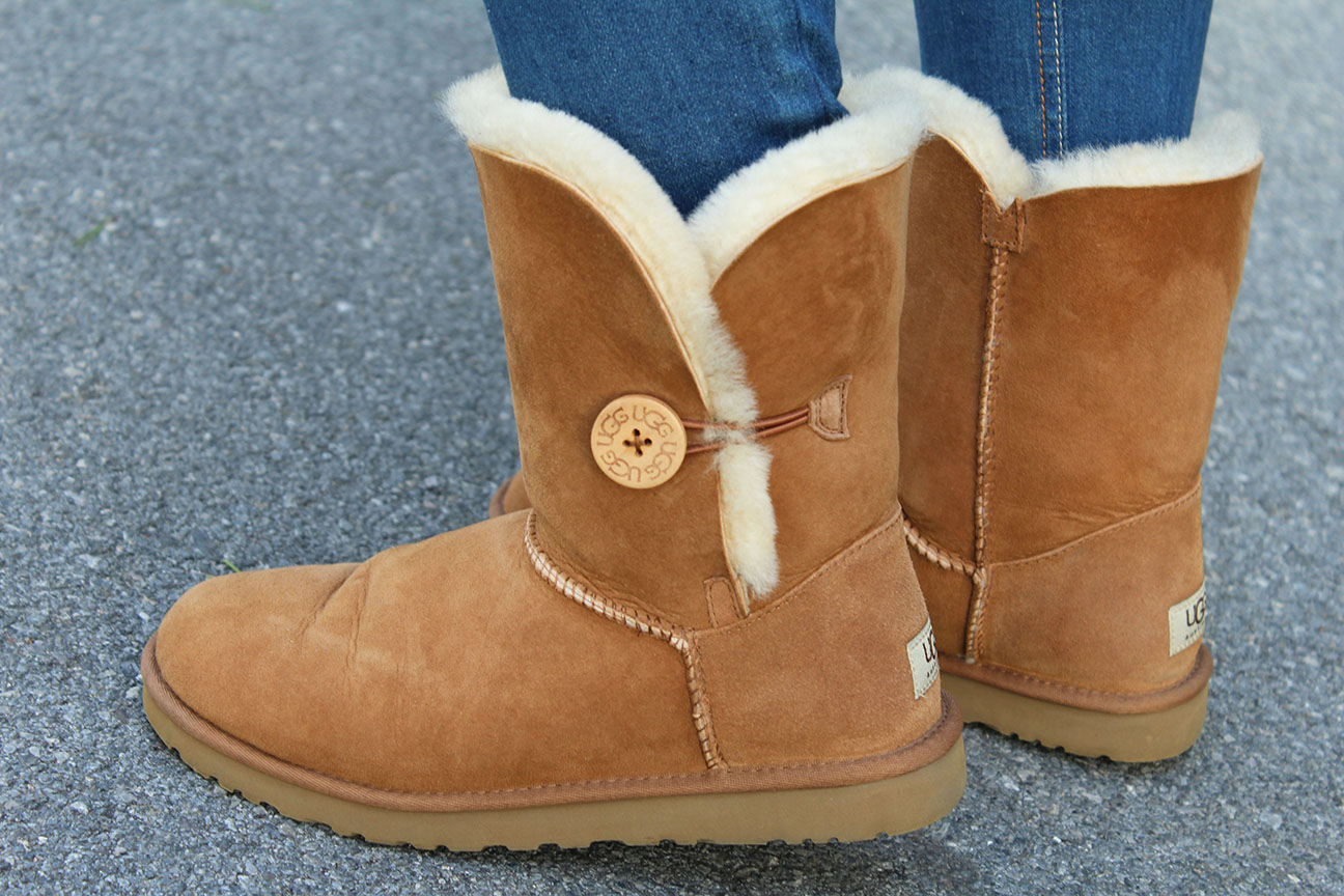 Botas Ugg en color camel.
